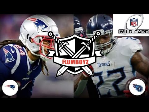 AFC Wild Card Playoffs Tennessee Titans Vs New England Patriots