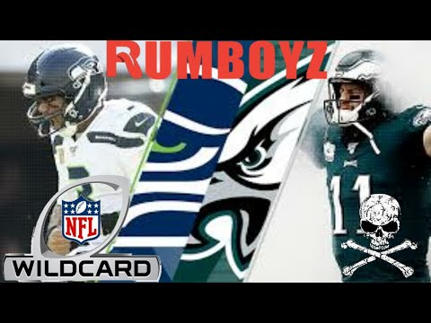 NFC Wild Card Playoffs Seattle Seahawks Vs Philadelphia Eagles