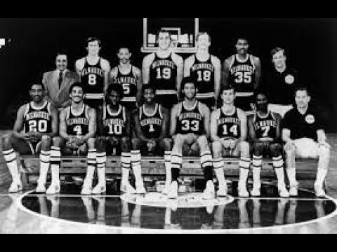 1970-1971, The Milwaukee Bucks' only NBA title run – NBA Championship Series