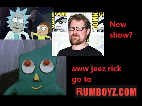 Rick and Morty creator working on NEW show |