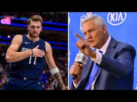 """""""Luka will be the Mavericks greatest all time player""""- Jerry West 
