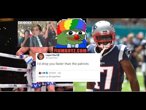 Logan Paul responds to AB's challenge Best REACTIONS on Twitter 🤡🤡😂😂| JD Rants