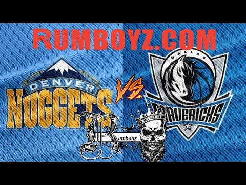NBA Basketball Denver Nuggets vs Dallas Mavericks