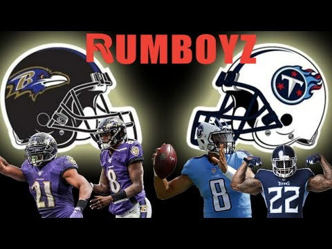 AFC Divisional Playoffs Tennessee Titans vs Baltimore Ravens