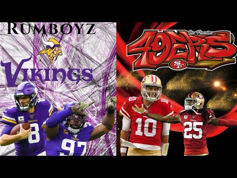 NFC Divisional Playoffs Minnesota Vikings vs San Francisco 49ers