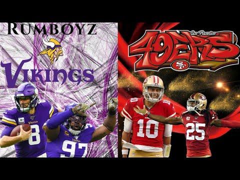 NFC Divisional Playoffs Minnesota Vikings vs San Francisco 49ers