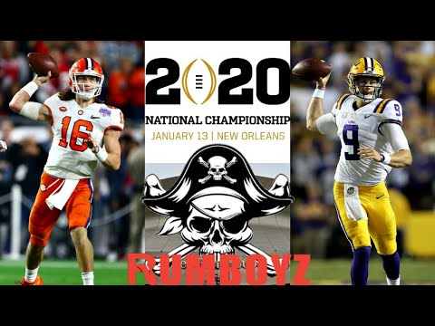 LSU vs Clemson CFP National Championship!