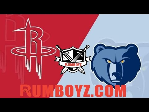 Houston Rockets vs Memphis Grizzlies NBA Basketball