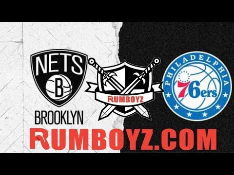 Brooklyn Nets vs Philadelphia 76ers NBA Basketball