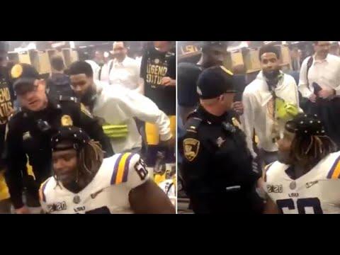 Odell spanks Cop in LSU locker room, Cop issues arrest warrant. Petty Level:Over9000!!🤣 | JD Rants