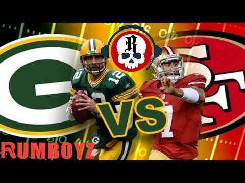 Green Bay Packers vs San Francisco 49ers NFC Championship!