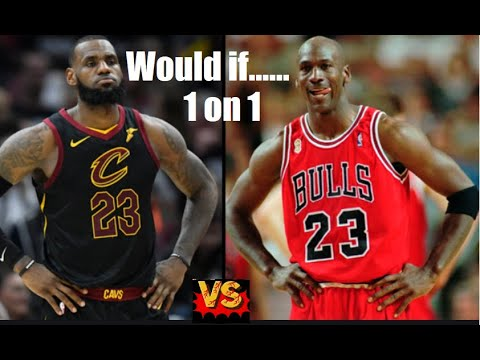 1996′ Michael Jordan vs 2016′ LeBron James, Who would win 1 on 1? According to NBA2K20