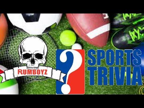 Rumboyz Sports Trivia 1/21