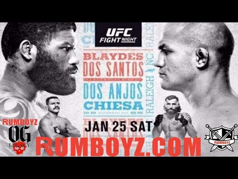 UFC Fight Night! Blaydes vs Dos Santos