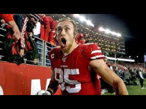 49ers' Superstar Tightend has had a torn labrum since 2018, George Kittle is a BEAST | JD Rants