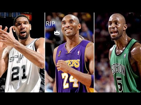 Kobe Bryant, Tim Duncan, Chris Bosh, and Kevin Garnett lead Hall of Fame Class of 2020