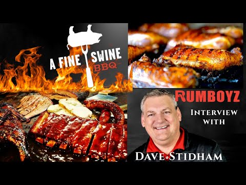 A fine interview with: David Stidham owner of A Fine Swine BBQ!
