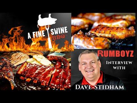 A fine interview with: David Stidham owner of A Fine Swine BBQ!