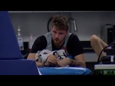 Luka Dončić rolls his ankle in practice | Can he stay healthy?