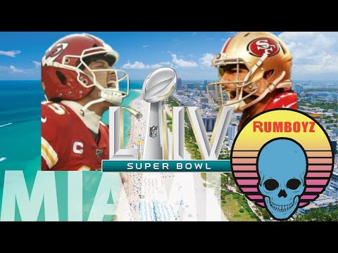 Super Bowl LIV San Francisco 49ers vs Kansas City Chiefs