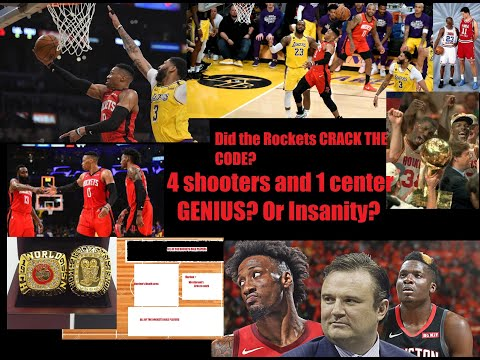 Houston Rocket's NEW Small Ball Lineup – 4 shooters(Harden too), 1 slasher: CRAZY?! Or Genius!? 😲❗❗❗