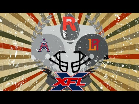 XFL 2020: LA Wildcats vs Houston Roughnecks