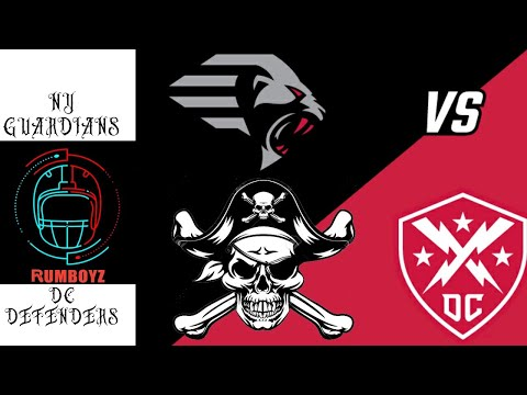 XFL Football: New York Guardians vs DC Defenders