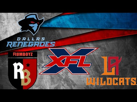 XFL Football: Dallas Renegades vs LA Wildcats
