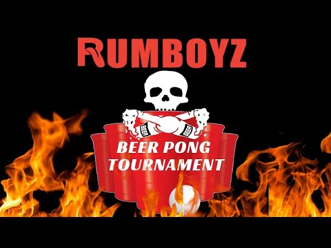 RUMBOYZ Beer Pong Tournament!