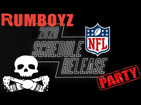 NFL 2020 Schedule Release Party!