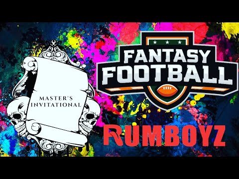 Masters Invitational Fantasy Football Draft! 🏈
