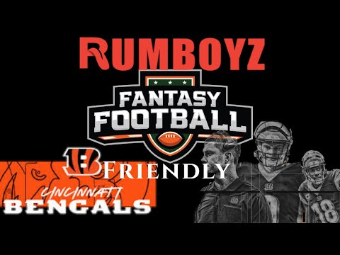 Fantasy Football Friendly or Not? 2020 Cincinatti Bengals!