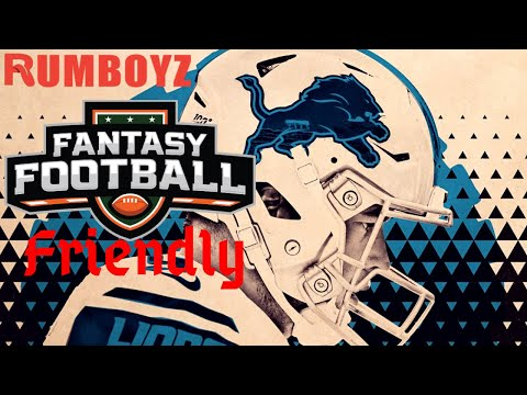 Fantasy Football Friendly or Not? Detroit Lions!