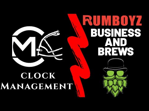 Business and Brews EP.3 Clock Management Fantasy Football!