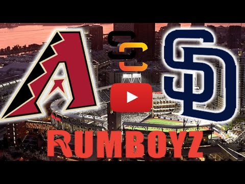 Arizona Diamondbacks vs San Diego Padres!