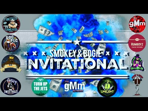 Smokey & Bogie Invitational Fantasy Football Draft and recap show! 🏈