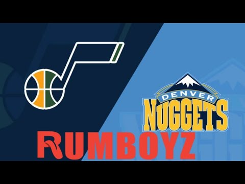 Utah Jazz vs Denver Nuggets West 1rd Game 2