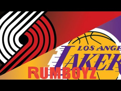 Portland Trailblazers vs Los Angeles Lakers West 1st Round Game 2