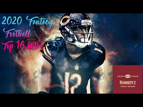 Fantasy Football 2020 Rumboyz Top 16 WR's