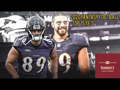 Fantasy Football 2020 Rumboyz Top 15 TE's