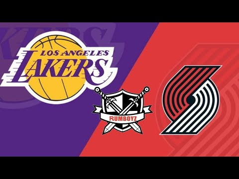 Los Angeles Lakers vs Portland Trailblazers West 1st Round Game 4