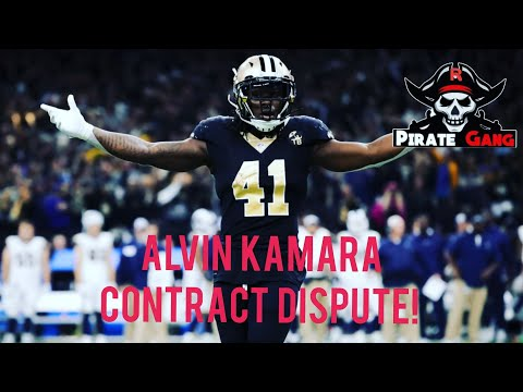 Alvin Kamara holdout & Fantasy Football Implications