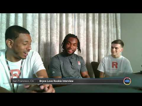 Bryce Love Washington Football Team Interview!