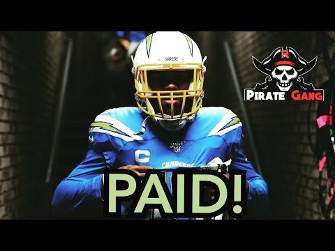 Keenan Allen Gets Paid!