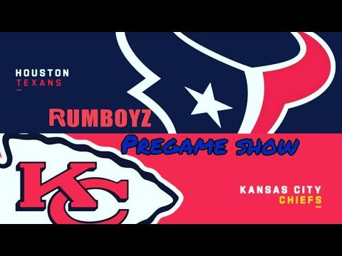 Rumboyz NFL TNF Pregame show!