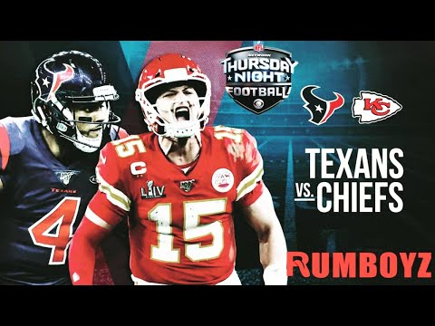 Houston Texans vs Kansas City Chiefs Thursday Night Football week 1