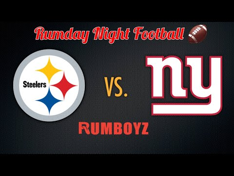 Pittsburgh Steelers vs New York Giants Monday Night Football week 1