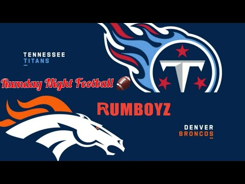 Tennessee Titans vs Denver Broncos Monday Night Football week 1