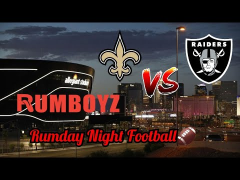 New Orleans Saints vs Las Vegas Raiders Monday Night Football week 2