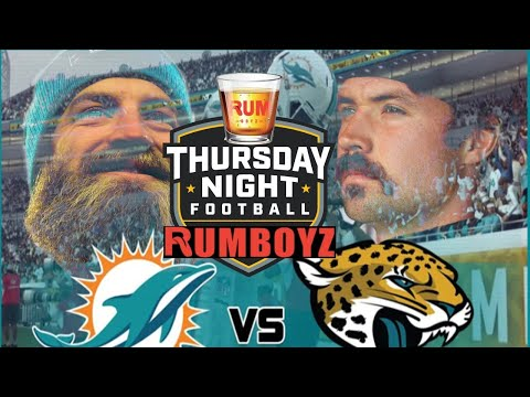 Miami Dolphins vs Jacksonville Jaguars Thursday Night Football week 3